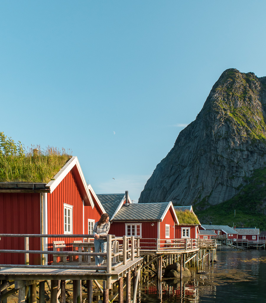 A Rorbu Hotel in Reine. Rorbu's are one of the most authentic ways to experience Lofoten.