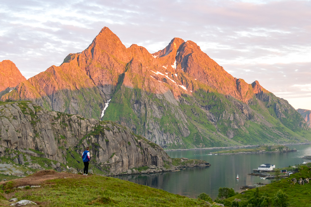 The best time to visit Lofoten? Consider summer and the midnight sun.
