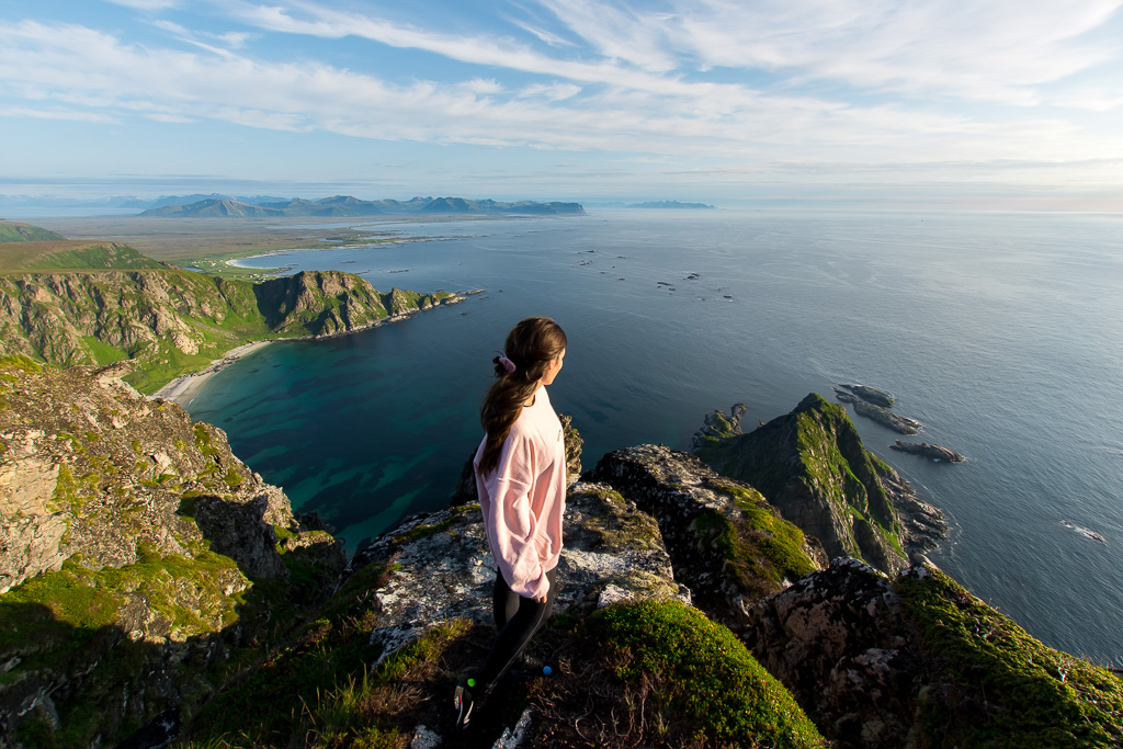 Hiking in Lofoten and Vesterålen is an unforgettable experience,