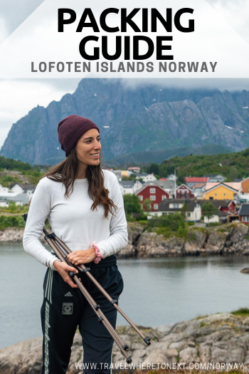 Norway, and the Lofoten Islands, in particular, can have very unpredictable weather. Read on to understand everything you need to pack for trip to Norway.