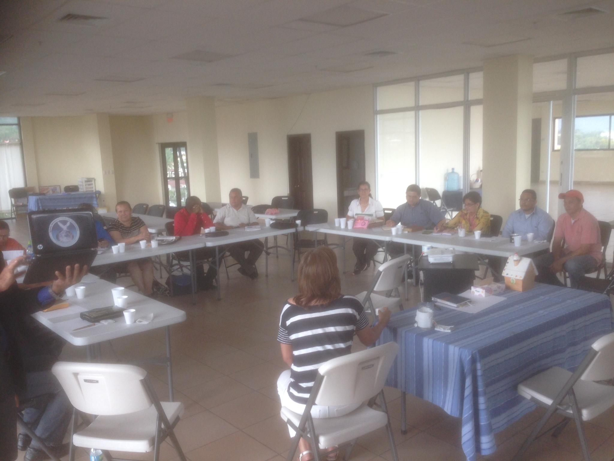 San Pedro Sula pastors brainstorming.JPG
