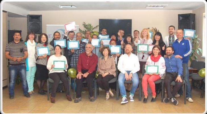 GLOMOS graduates in Uzzhorod 2016