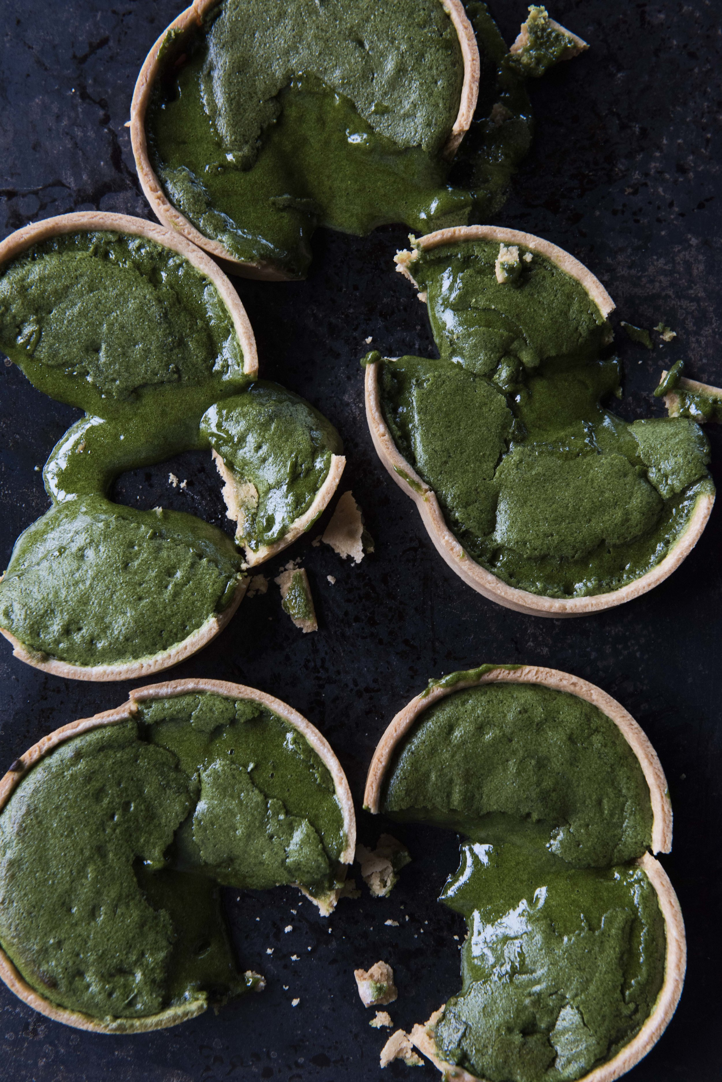 Jason Licker's Matcha Tart Photo: Jason Michael Lang
