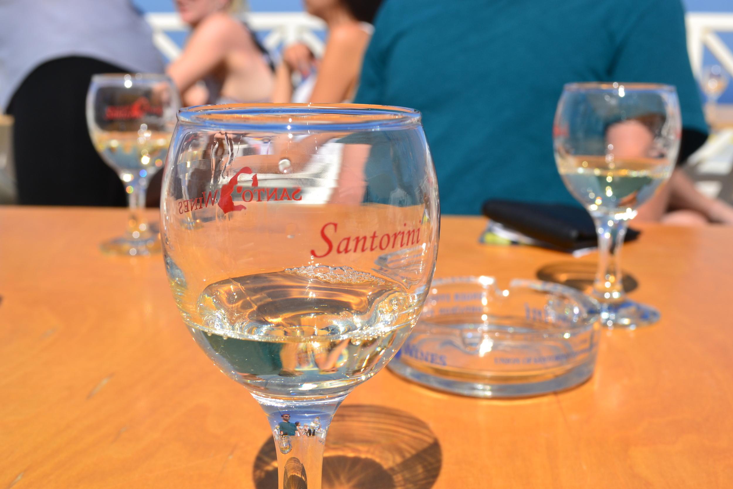 Santo Wine Tasting