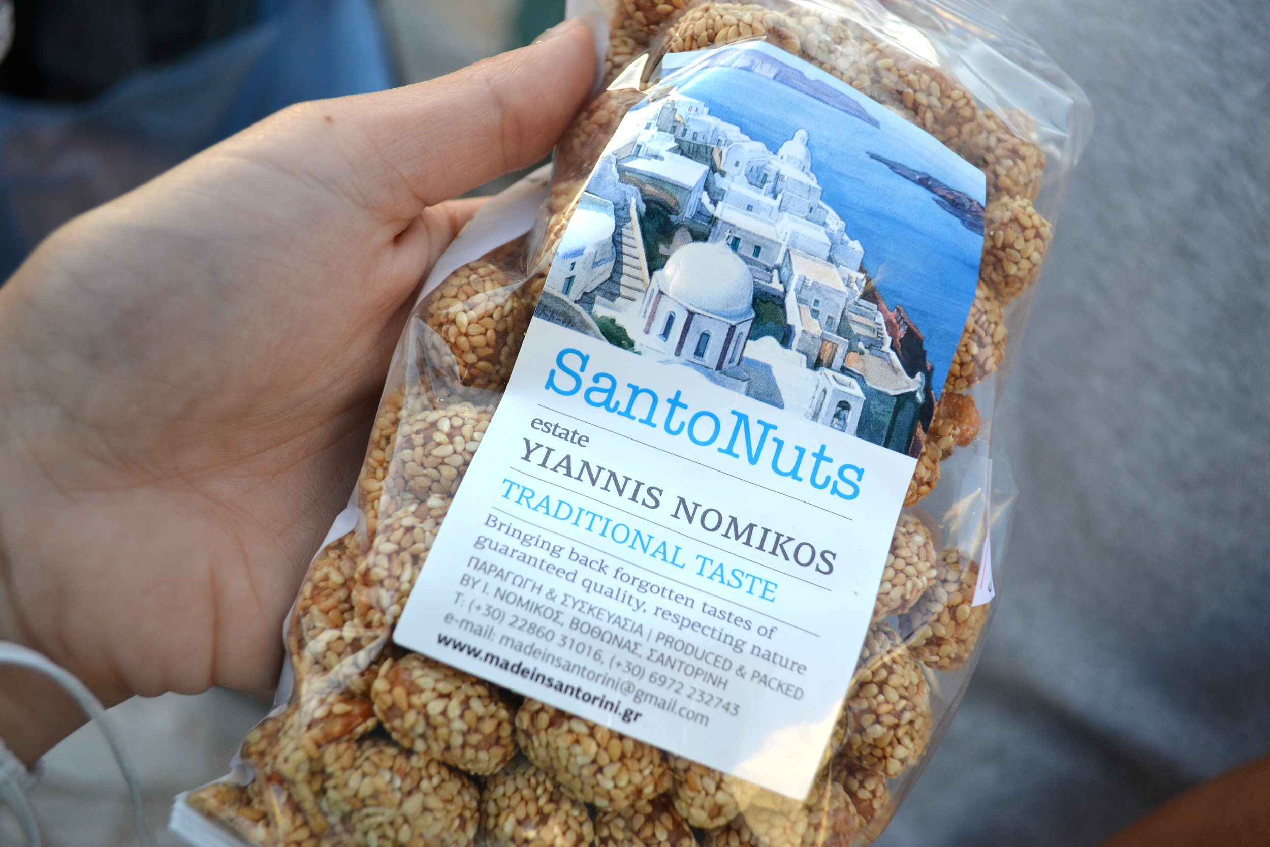 Behold, the great and formidable Santo Nuts.