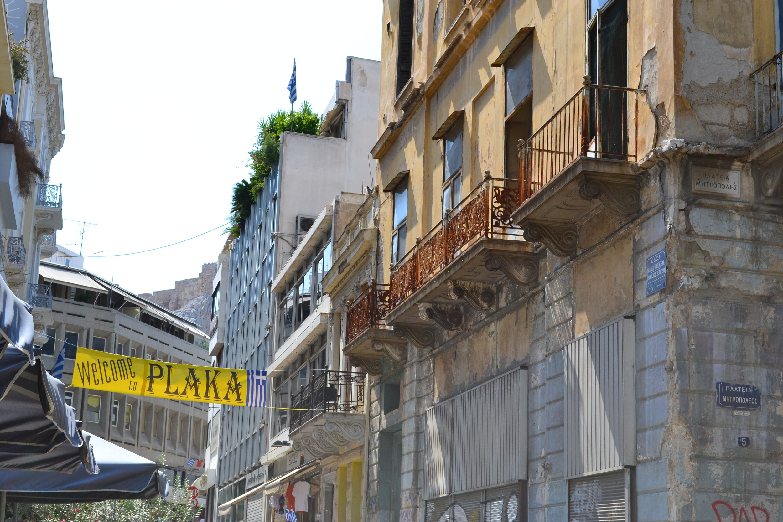 Athen's trendy Plaka District.