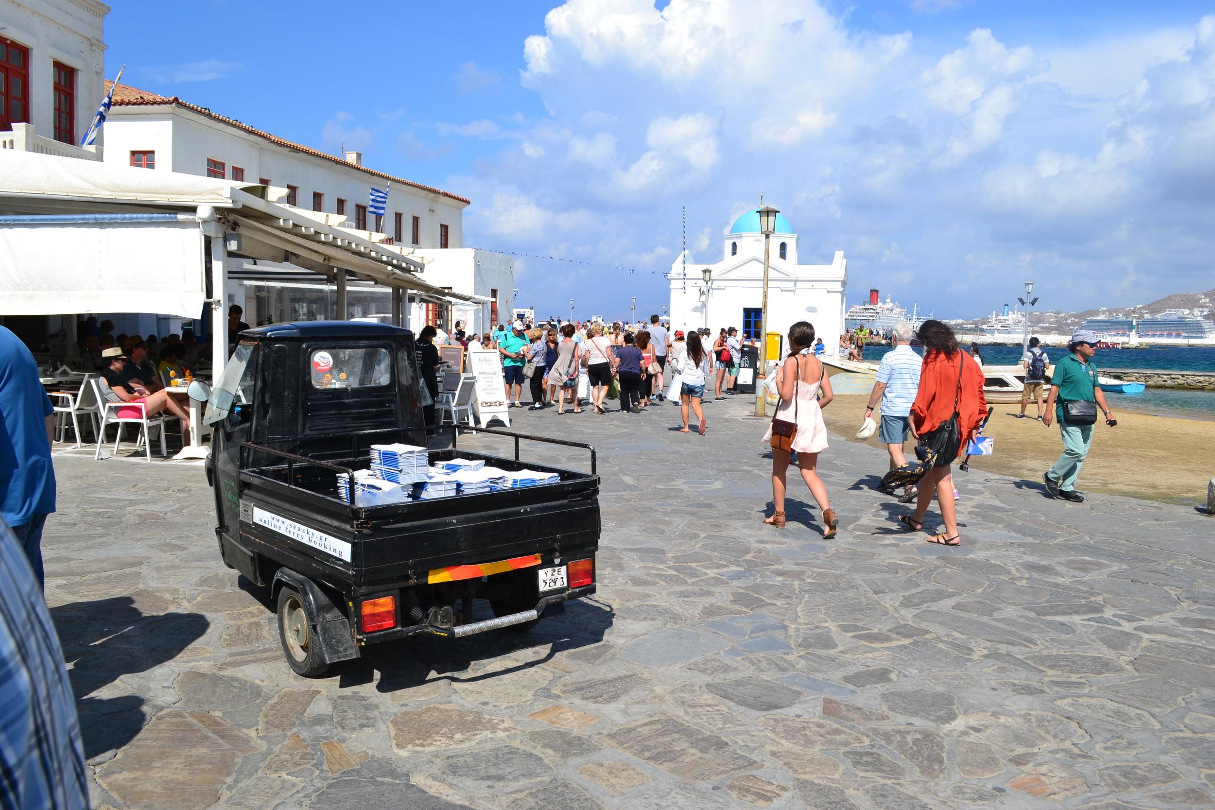 Baby Truck & Agios Nikolakis