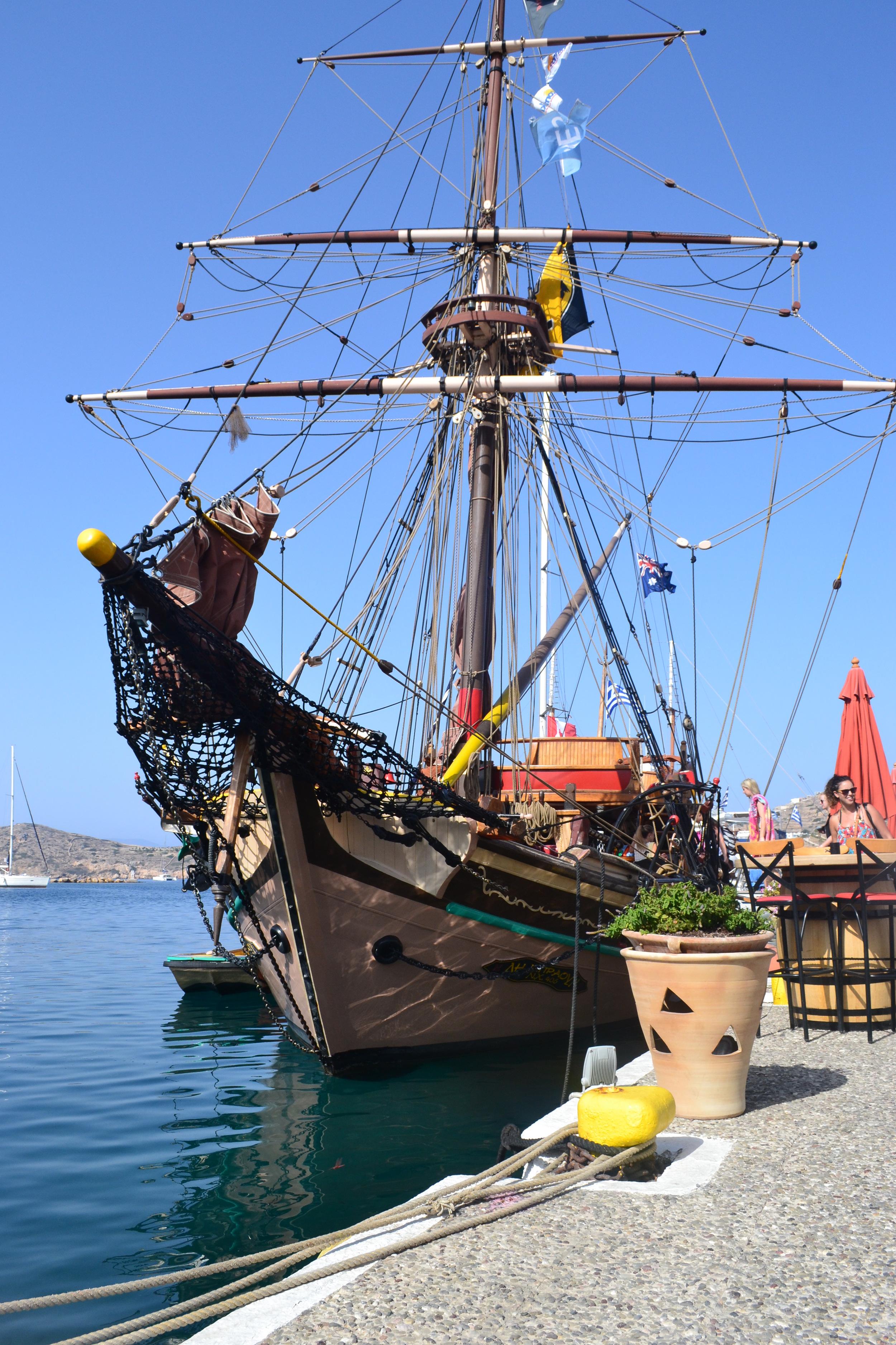 Pirate Ship Sailing Day!