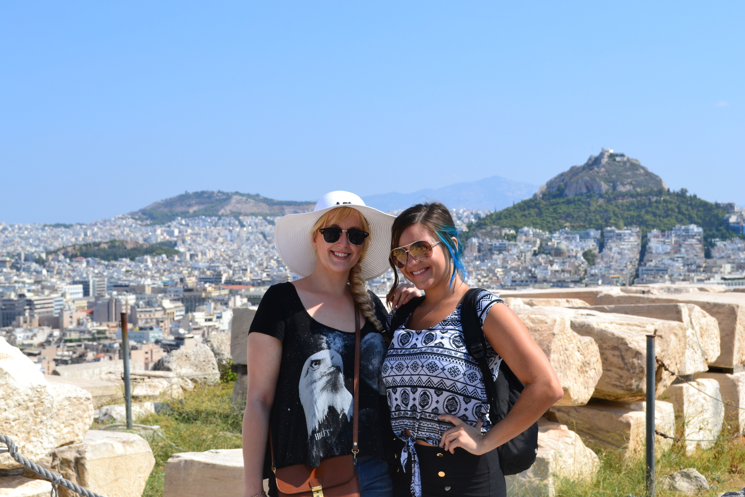 Views from the top of the Acropolis were stunning!