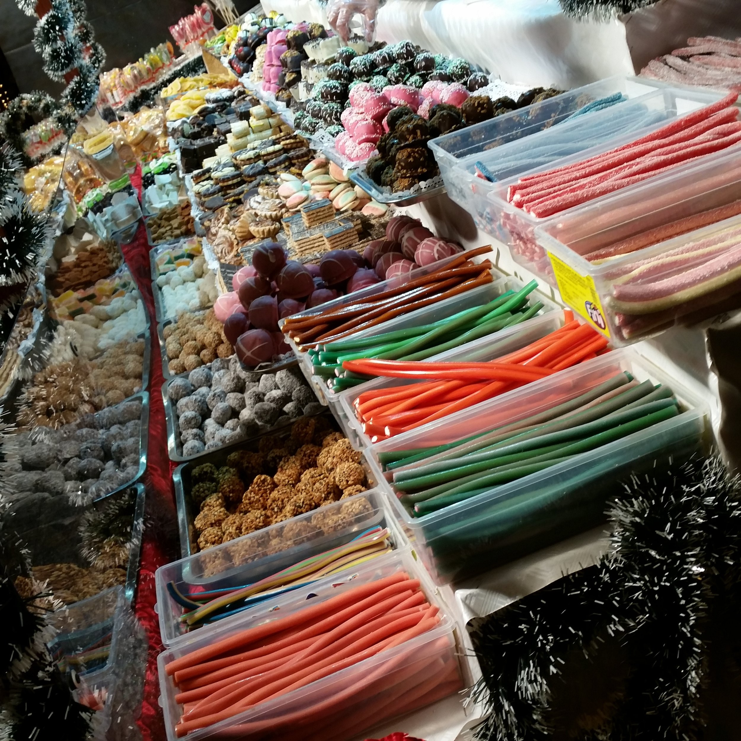 A street vendor's fare
