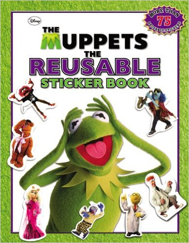 The Muppets Reusable Sticker Book