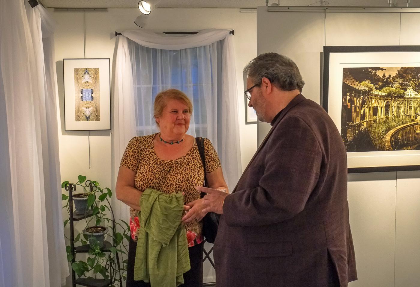 Photog Harold Naideau with writer Debbie Tuma.jpg