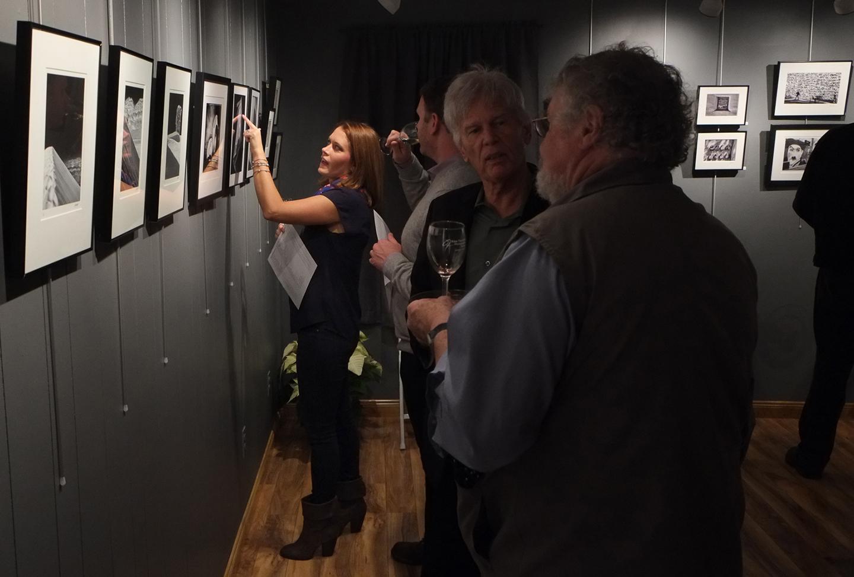 Guest, Alison Delaney drawn to Karen Bell's work