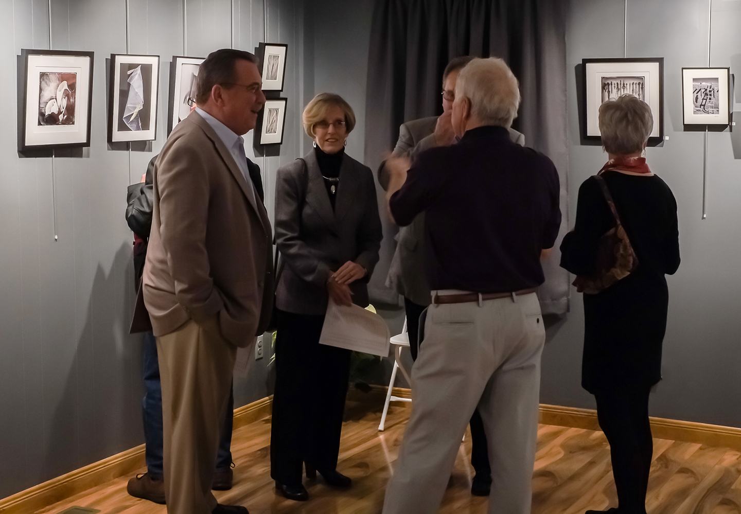 Guests at Collectors Preview: Robyn & Walter Krupski, Stephen Krupski, Anne & Ted Swanson