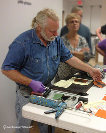 Dan Welden - Solarplate workshop.