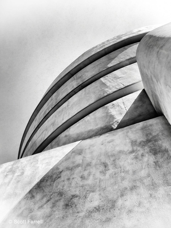 Guggenheim Façade by Scott Farrell