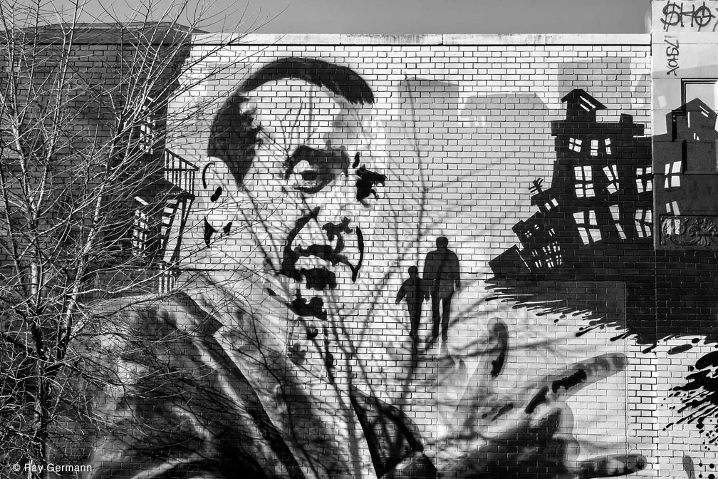 Mural, Arthur Avenue, Bronx, NYC by Ray Germann