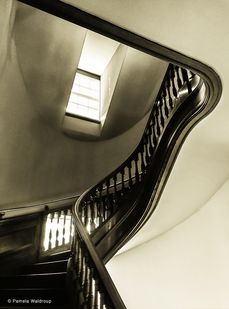 Staircase Number 2 by Pamela Waldroup