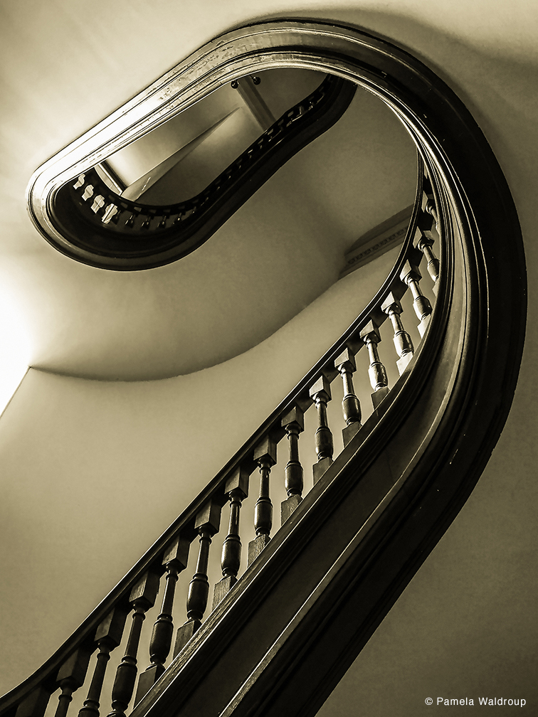Staircase Number 4 by Pamela Waldroup