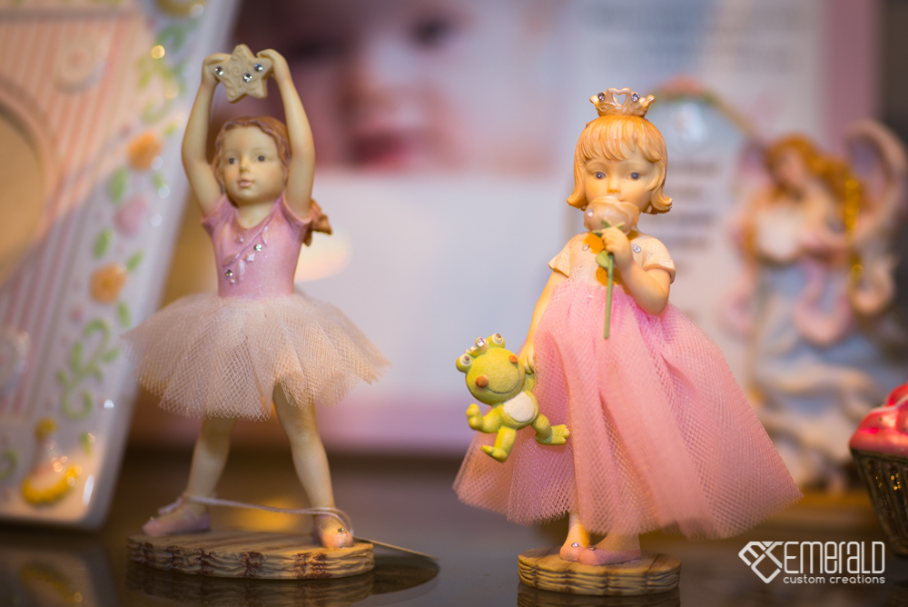 Ballerina Baby Ornaments