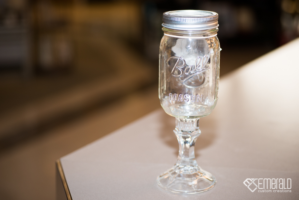 Mason Wine Glass