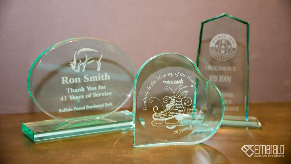 Custom Glass Awards