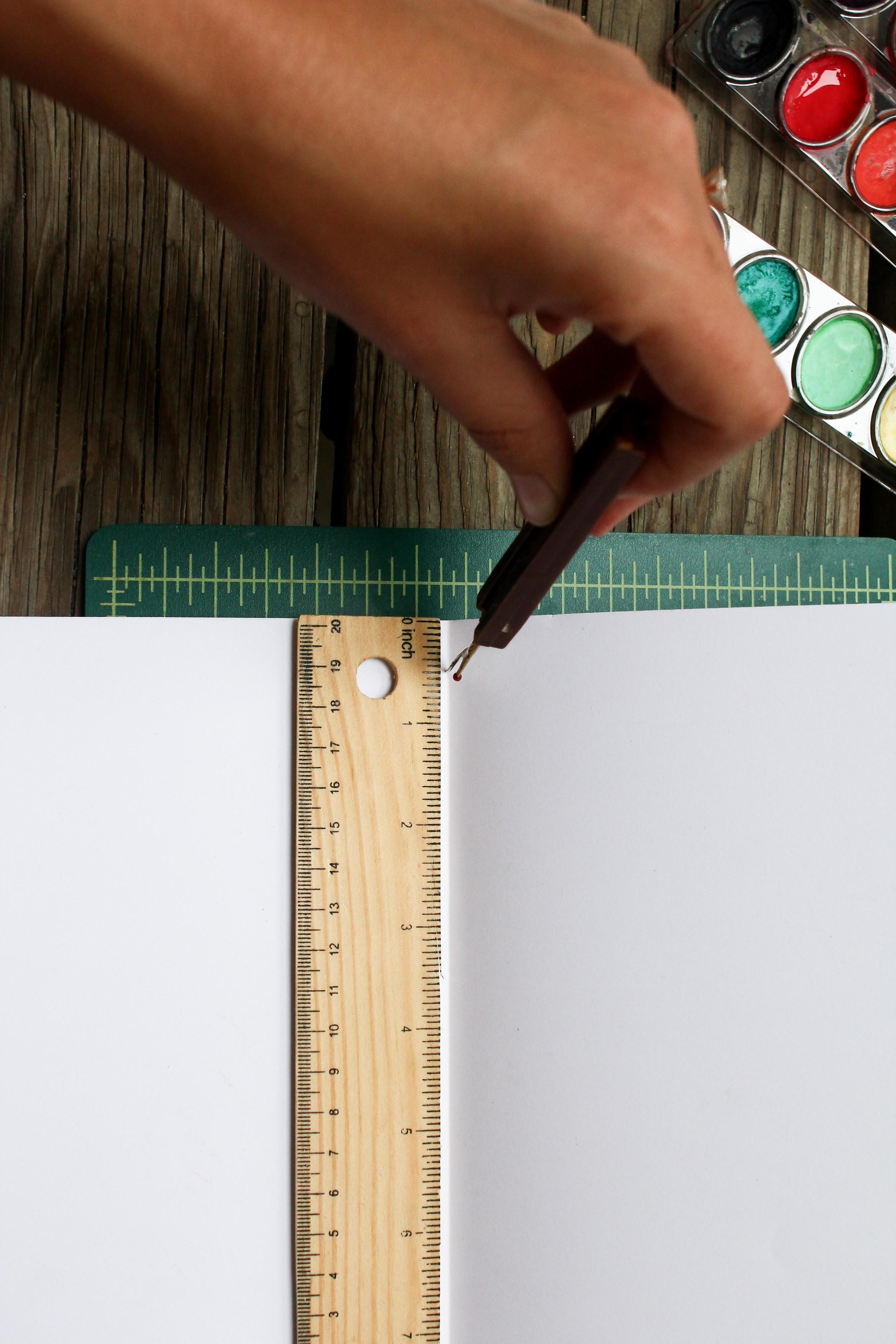 1 Hour DIY: Watercolor Journal