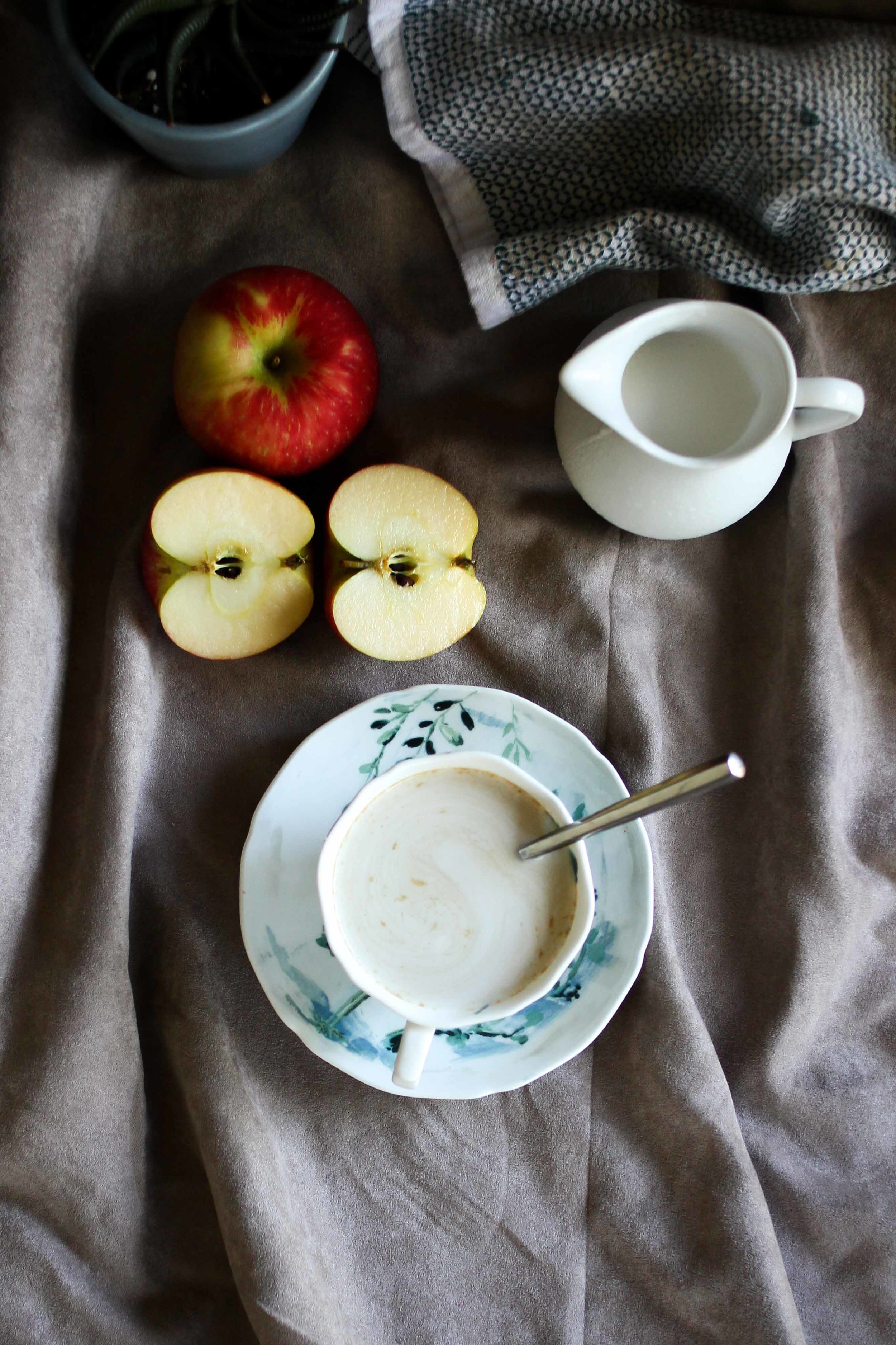 Creamy Apple Cider   All the Delights