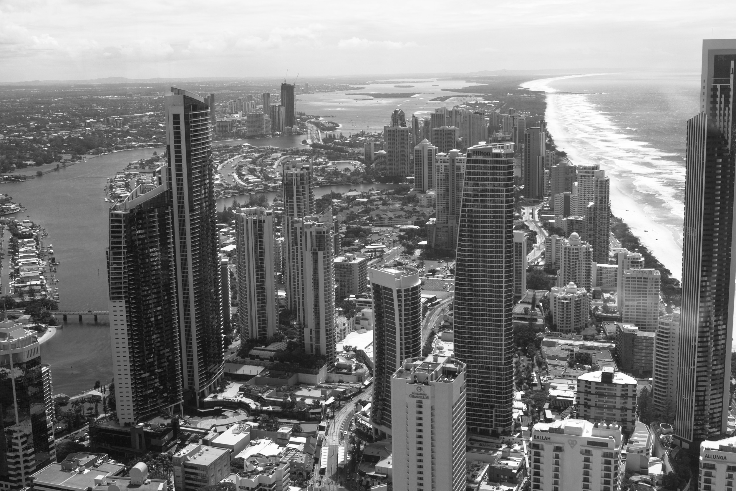 View from Skypoint Observation Deck