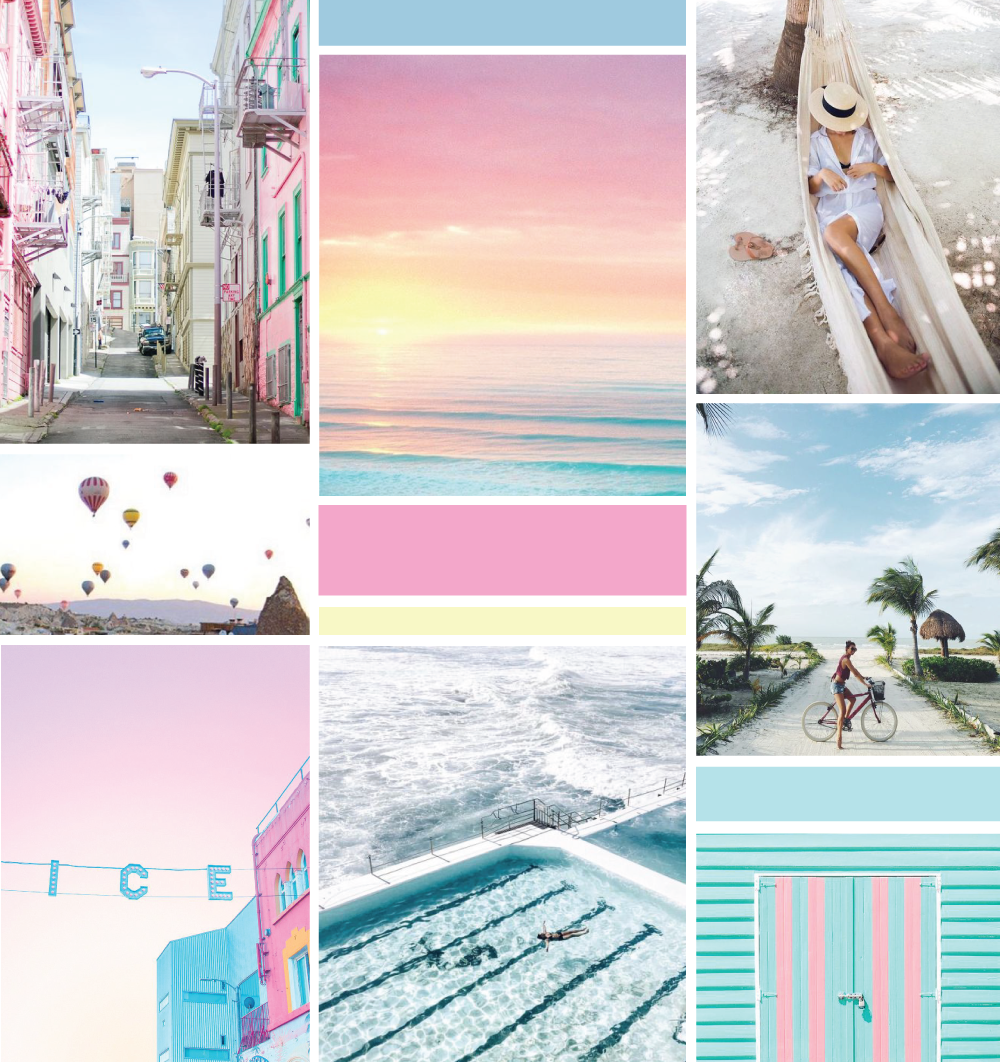 Love + Sunshine Inspiration Board by All the Delights Design