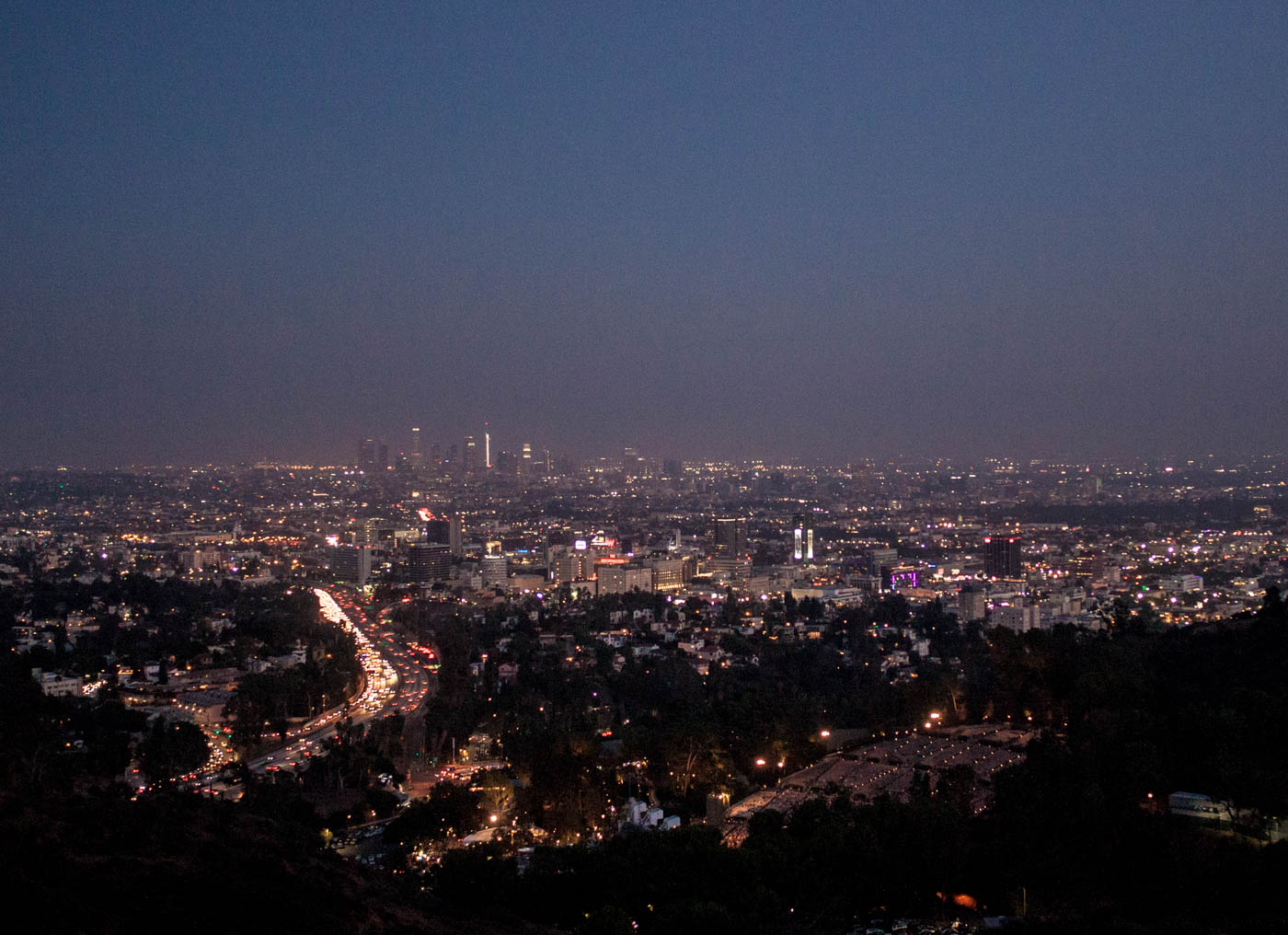 Los Angeles Mulholland Drive