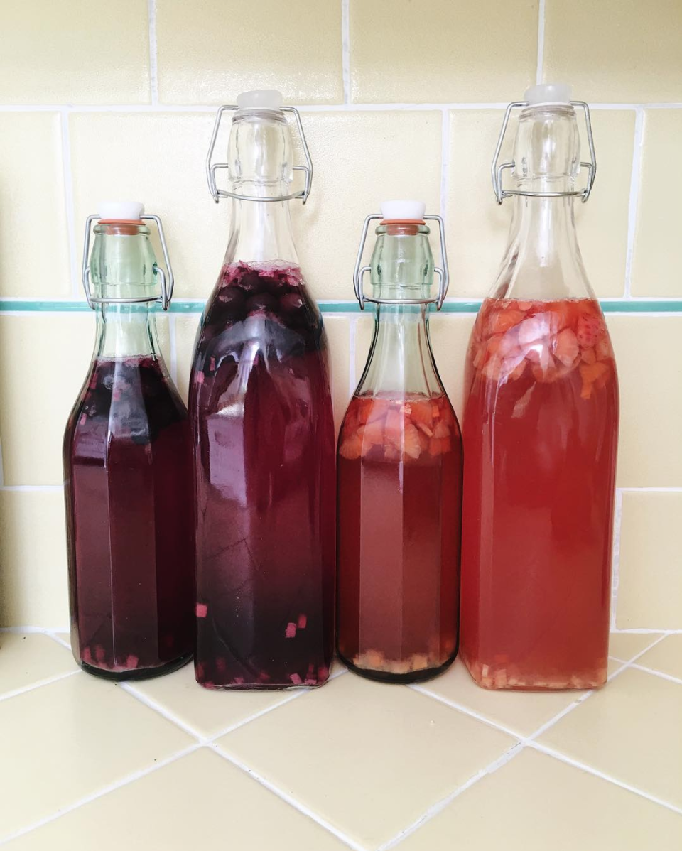 Homemade Kombucha