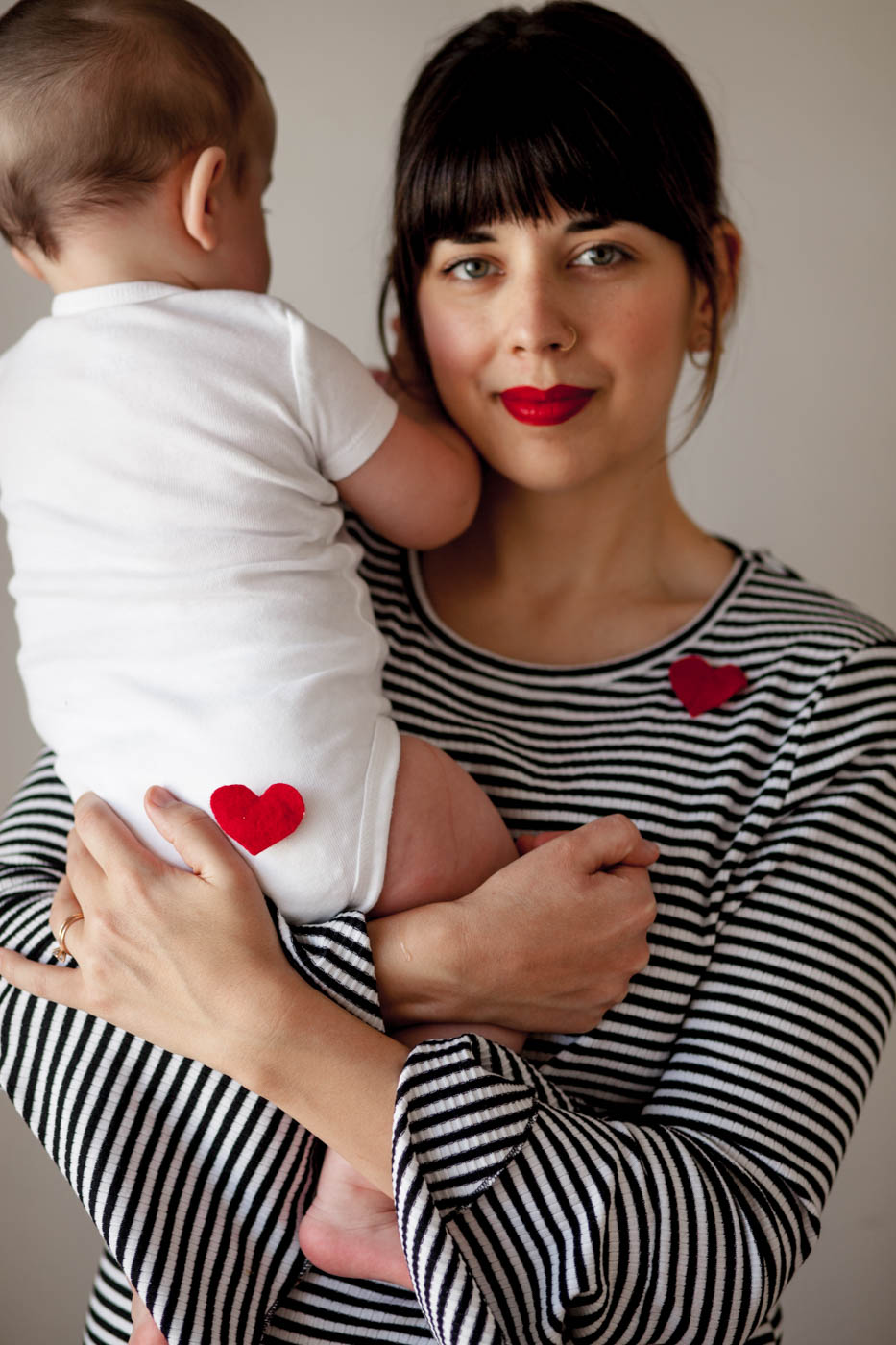 Heart Pin | DIY Valentines