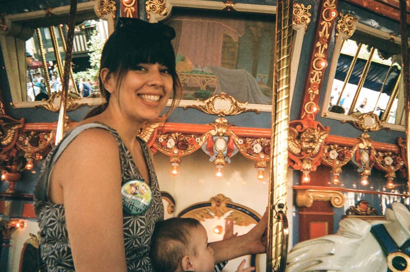 Spending your birthday at Disneyland