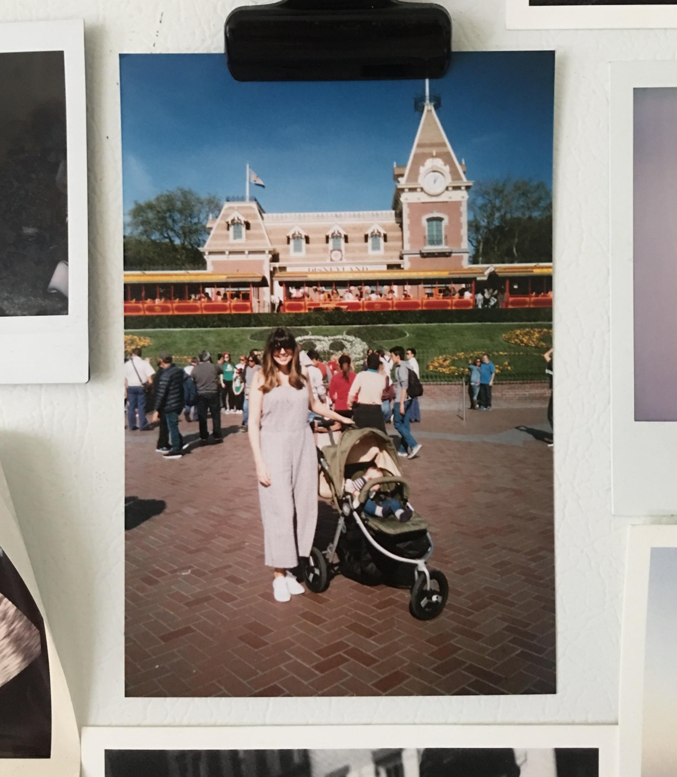 My birthday at Disneyland