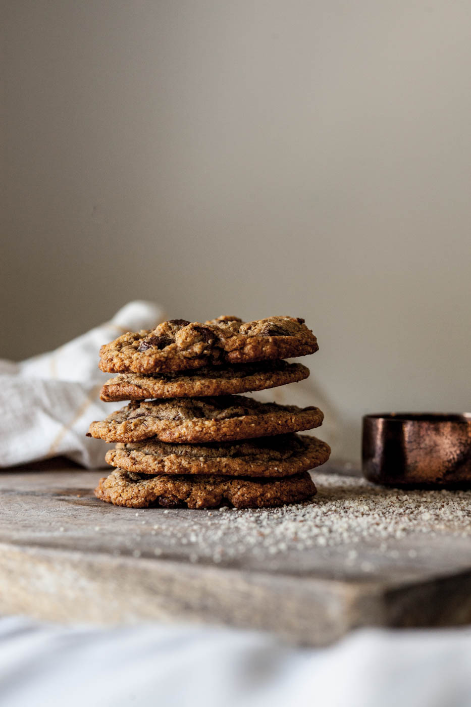 The Best Bakery Style Chocolate Chip Cookies (Gluten Free + Paleo Friendly)