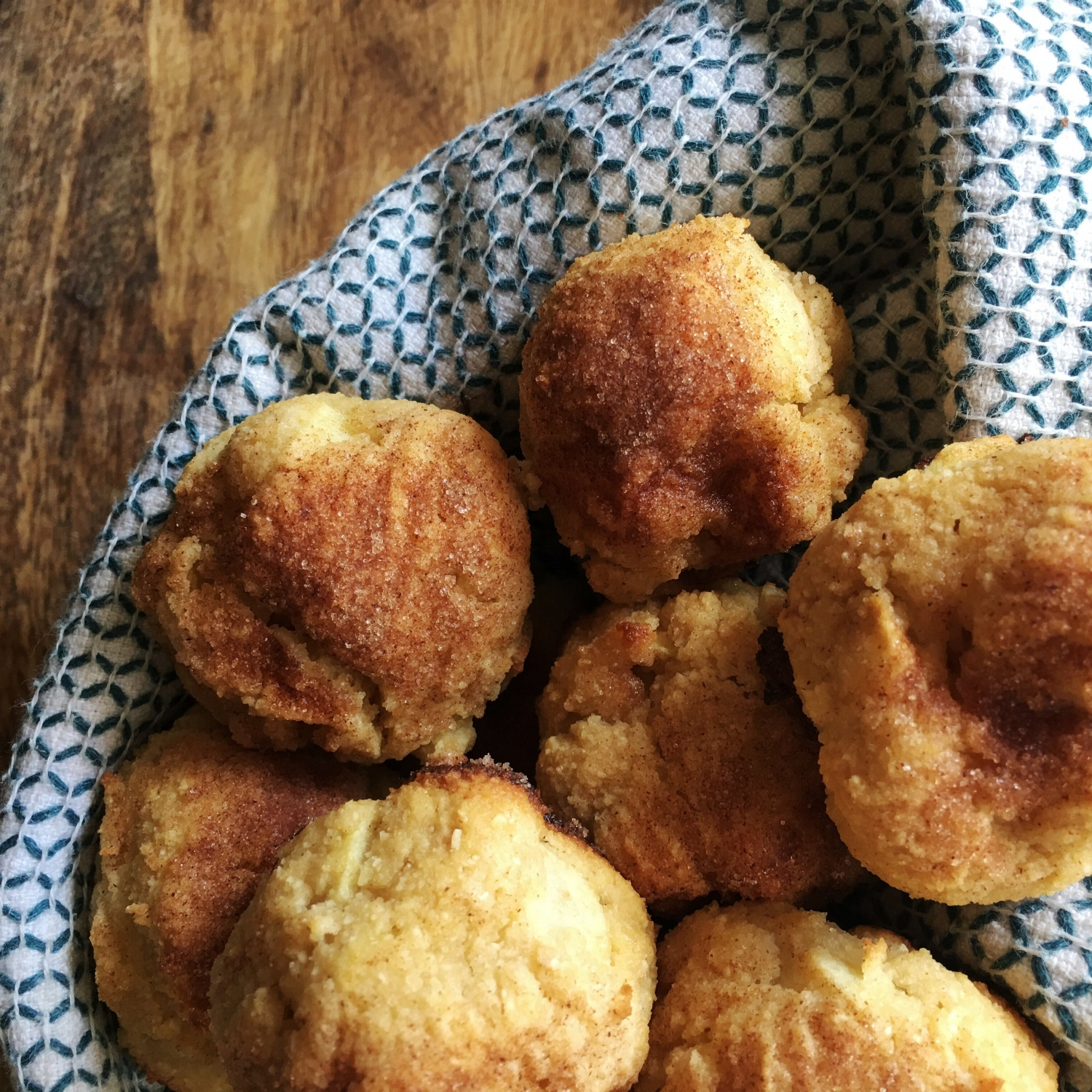 Paleo Baked Apple Fritters