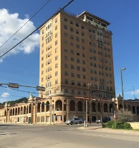 The Baker Hotel in Mineral Wells. Photo Credit: M'Lissa Howen.