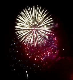 Who does not nlove fireworks? Photo Credit: M'Lissa Howen
