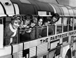 It may have been  the Cowsills  singing but America fell in love with the Partridges. Photo Credit: Wiki Commons (Public Domain).