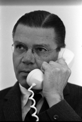 Robert McNamara, the force behind the Ford Falcon. Photo Credit  WikiMediaCommons  (Public Domain).