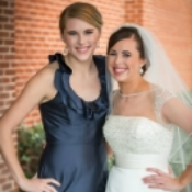It takes a special occasion for Kendall to do a Facebook appearance. Here with sister Kelsey at the wedding. Photo Credit:  Joey T. Photography , Houston Texas.