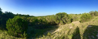 Tough to beat the blue skies of Pedernales State Park. Photo Credit: M'Lissa Howen.