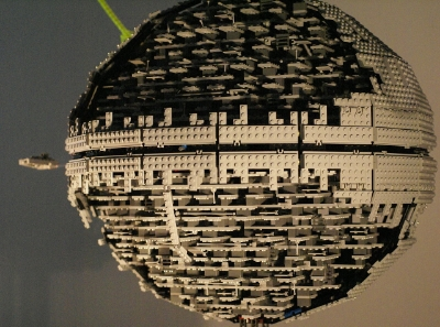 The Fox News mother ship? Photo Credit: Lego Set 10143 Death Star Todesstern by Dude of Lego via  Wikimedia Commons