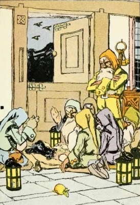Ricky, Bobby, Carly and the rest of the dwarfs whistle while they work. Photo Credit:Jessie Braham White, The Brothers Grimm (Snow White and the Seven Dwarfs)via Wikimedia Commons
