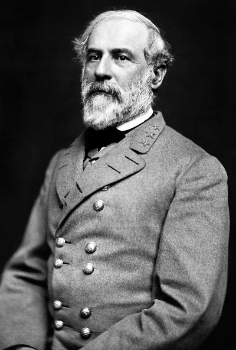 "In this picture, Lee's eyes tell us of his struggle. ""Robert Edward Lee"" by Julian Vannerson - The Library of Congress Prints & Photographs Online Catalog;  http://www.loc.gov/rr/print/catalog.html . Licensed under Public Domain via  Wikimedia Commons."