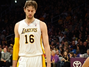 Pau Gasol...before I liked him. Image via WikiMedia Commons By Howcheng,  Public Domain