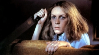 Jamie Lee Curtis became the object of many young man's affection while fending off a monster in her film debut.