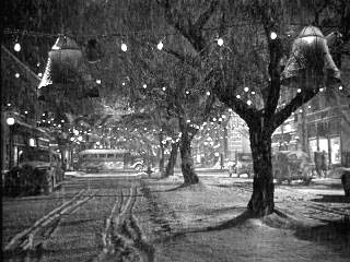 Bedford Falls on Christmas Eve. By Liberty Films (Own work) [CC BY-SA 3.0 (http://creativecommons.org/licenses/by-sa/3.0)], via Wikimedia Commons