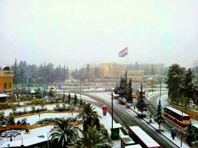 Aleppo in winter, in more peacful times. By Latristelagrima (Own work) [CC BY-SA 3.0 (http://creativecommons.org/licenses/by-sa/3.0)], via Wikimedia Commons